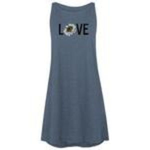 LOVE Sunflower Tank Dress S
